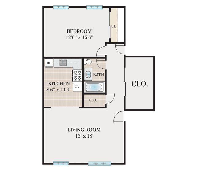 650 Sq Ft Apartment Floor Plan Home Mansion