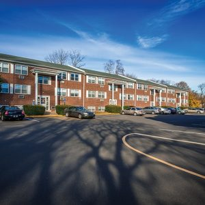 Bellevue Court Apartments For Rent in Penndel, PA Building View